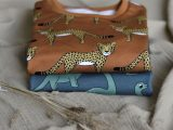 Lounge sweater met cheetahs